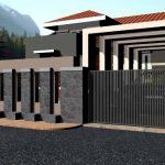 Desain Pagar Besi Untuk Rumah Minimalis