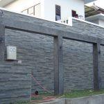 Desain Pagar Tembok Minimalis