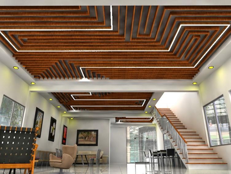 Desain Plafon Rumah Jawa