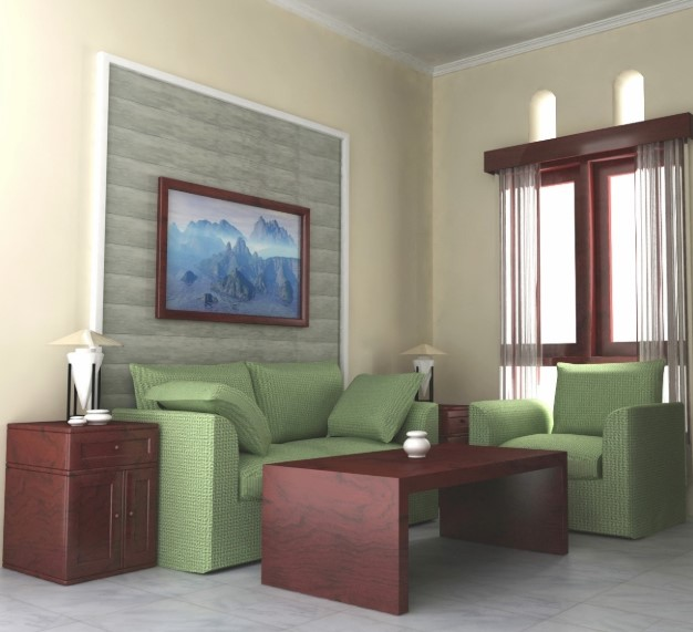 Desain Ruang Tamu Minimalis 3x3