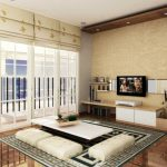 Desain Ruang Tamu Minimalis Ala Jepang