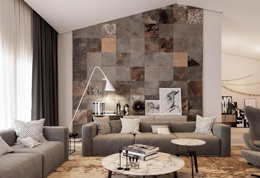 Desain Ruang Tamu Minimalis Dan Elegan