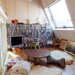 Desain Ruang Tamu Minimalis Tanpa Kursi