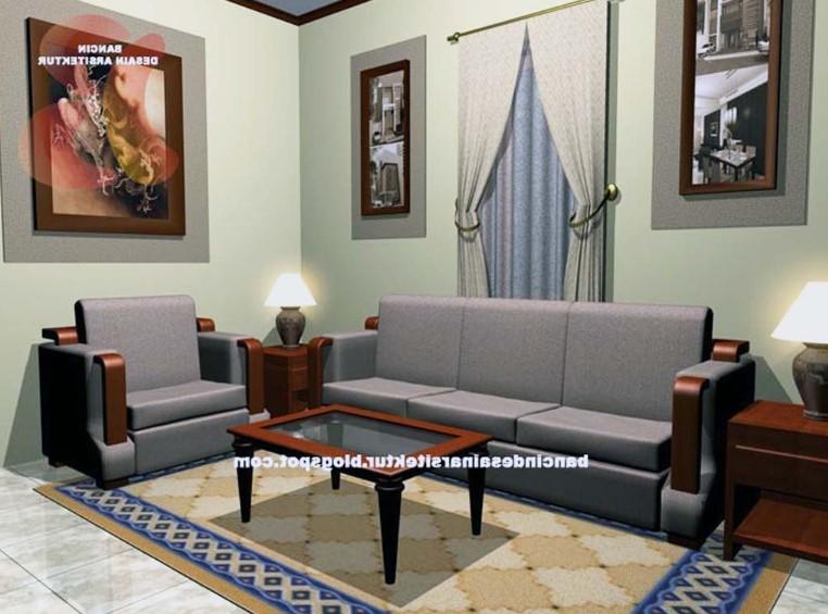 Desain Ruang Tamu Simple Minimalis