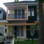 Desain Rumah Joglo Modern Minimalis 2 Lantai