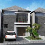 Desain Rumah Minimalis Modern 2 Lantai 3d