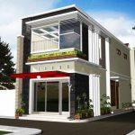 Desain Rumah Minimalis Modern 2 Lantai Type 60
