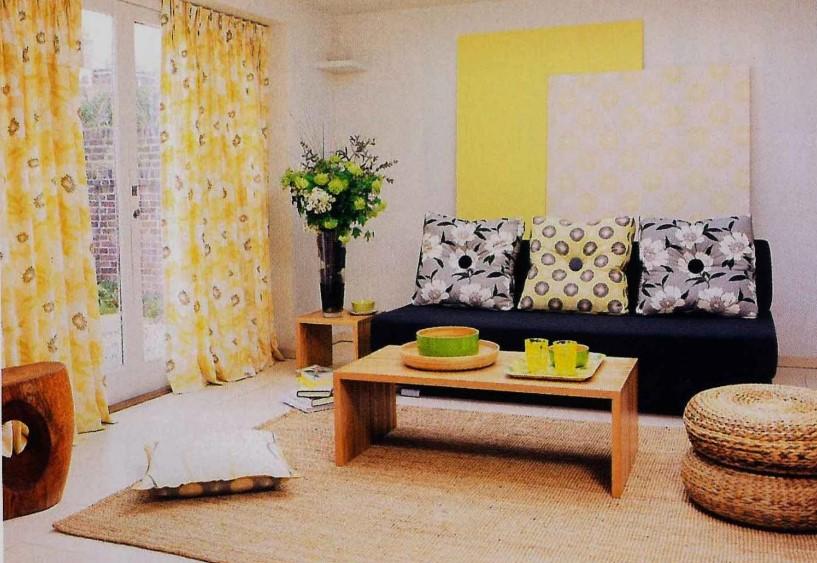 Desain Warna Ruang Tamu Minimalis