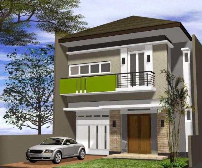 Foto Rumah Minimalis Modern 2 Lantai