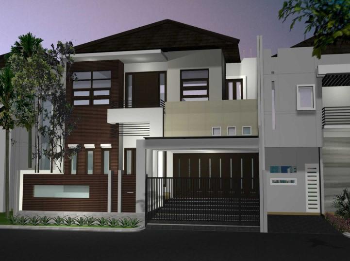 Model Desain Rumah Minimalis Modern 2 Lantai