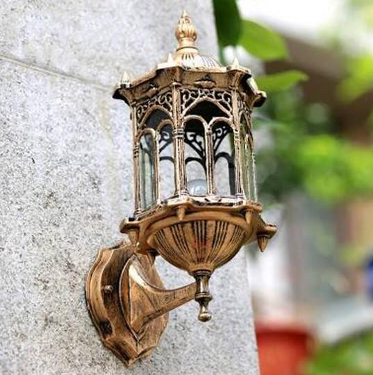 Model Lampu Hias Dinding Pilar