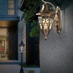 Model Lampu Hias Dinding Teras Minimalis