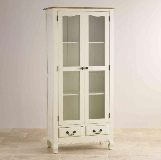 Model Lemari Hias Minimalis Warna Putih