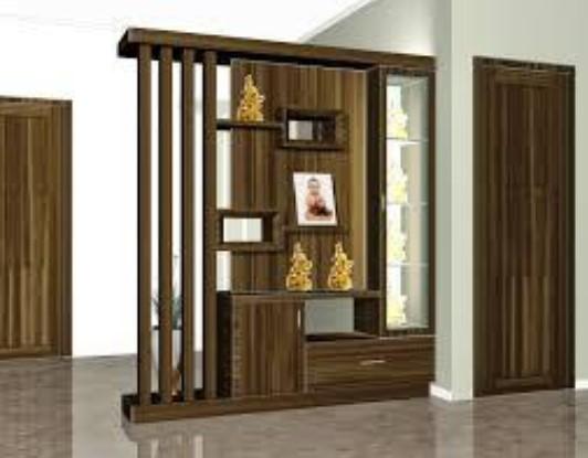 Model Lemari Pajangan Minimalis sebagai Sekat Ruangan