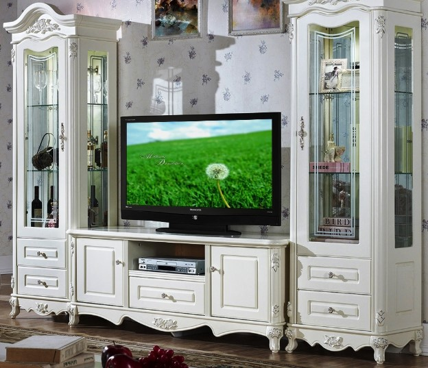 Model Lemari Pajangan Tv Minimalis