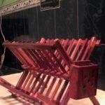 Model Rak Piring Minimalis Dari Kayu