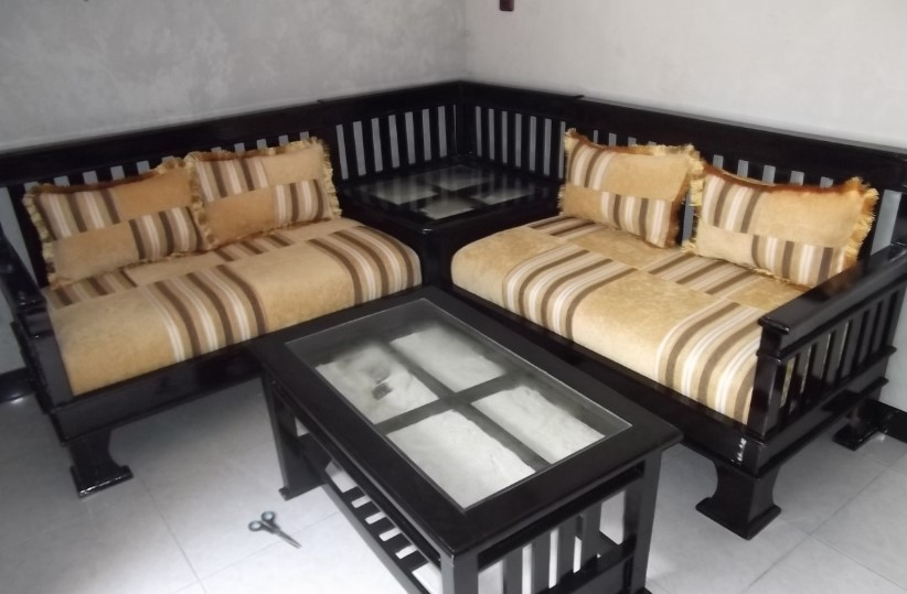 Model Sofa Bed Minimalis Kayu Jati