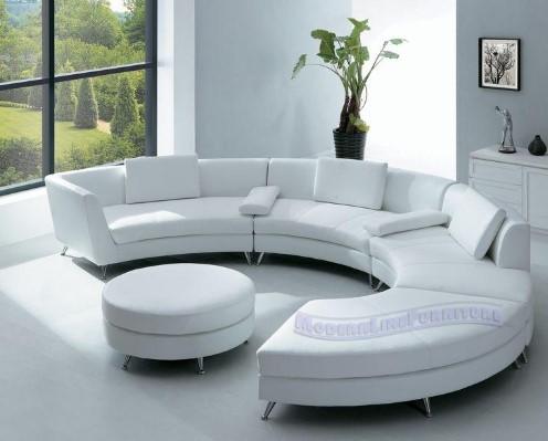 Model Sofa Terbaru Berbentuk Setengah Lingkaran