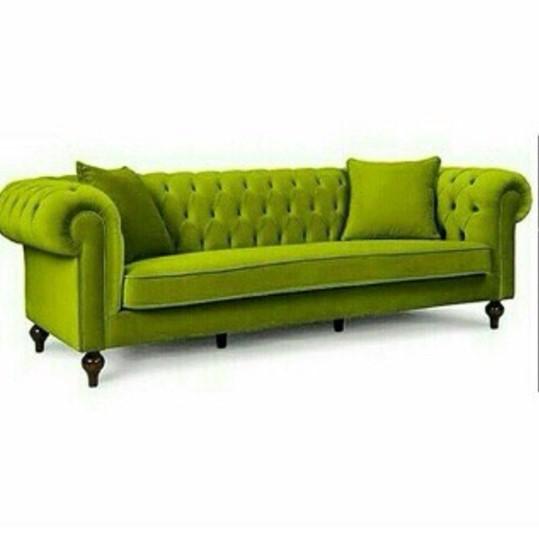 Model Sofa Terbaru Warna Hijau