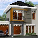 Model Teras Rumah 2 Lantai Minimalis Modern
