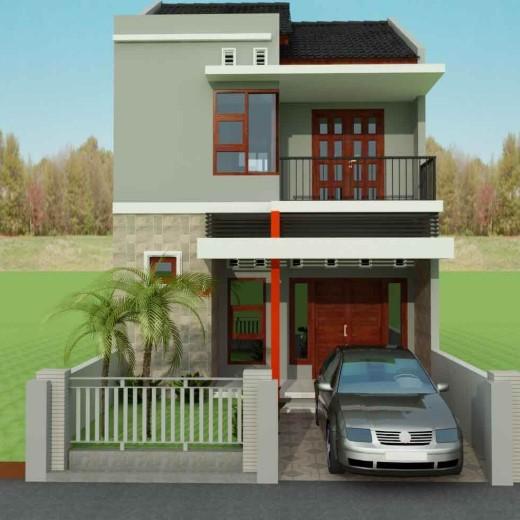 Model Teras Rumah Bertingkat Minimalis