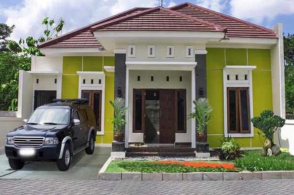 Model Teras Rumah Beton Minimalis