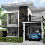 Model Teras Rumah Minimalis Dua Lantai