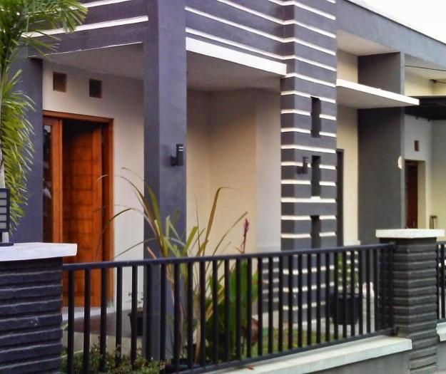 Model Teras Rumah Rumah Minimalis Cor