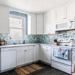 Motif Keramik Dapur Warna Biru