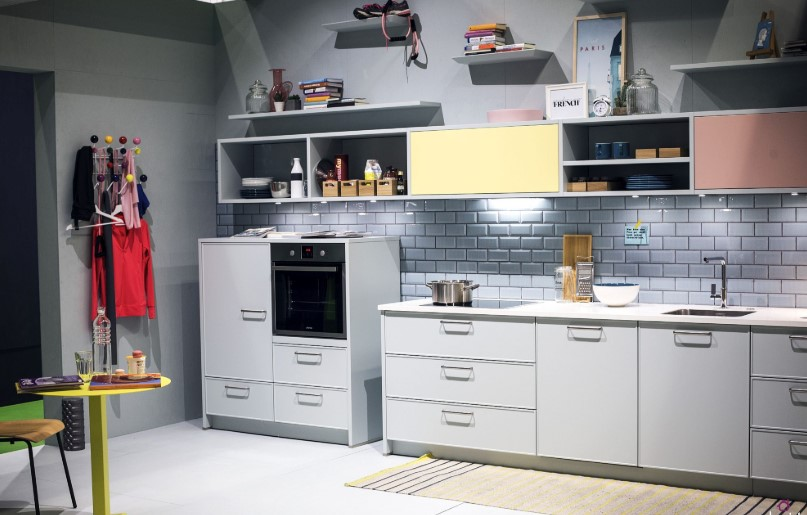 35 Contoh Motif Keramik Dapur Minimalis Terbaru 2020