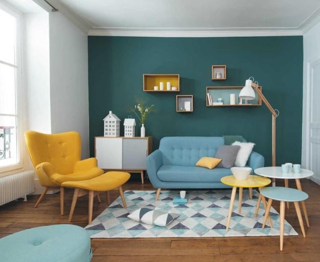 Warna Cat Interior Ruang Tamu Kecil