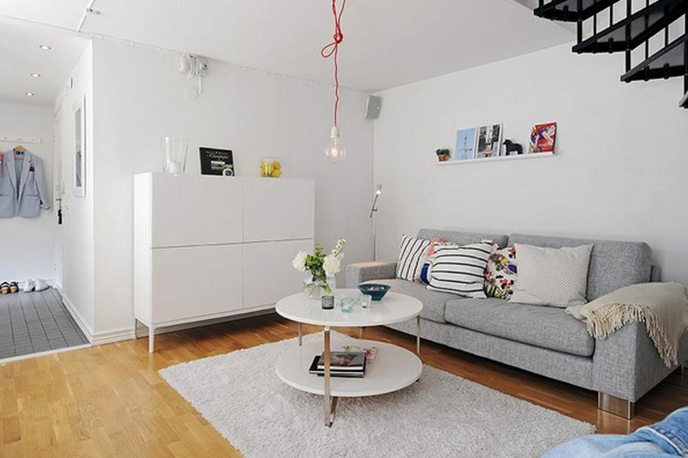 Warna Cat Interior Ruang Tamu Rumah Minimalis
