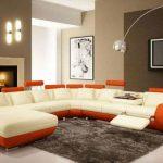 Warna Cat Ruang Tamu Coklat Muda