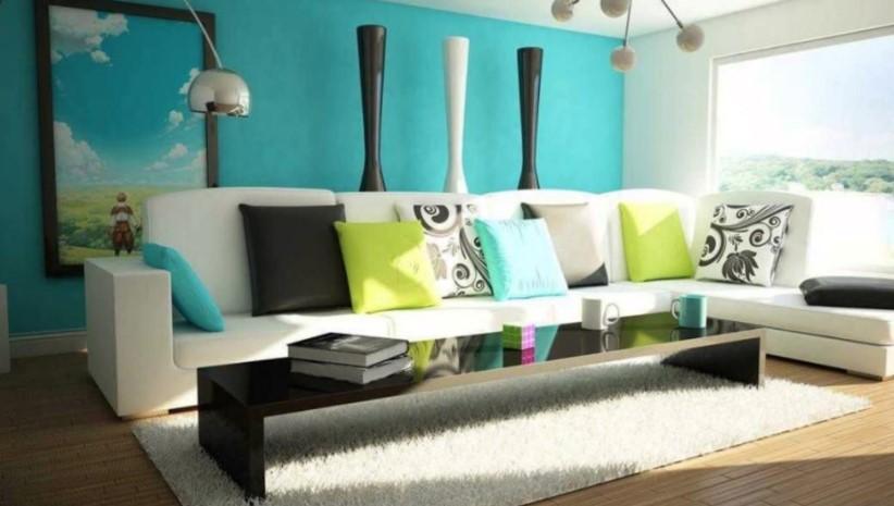 Warna Cat Ruang Tamu Minimalis Elegan