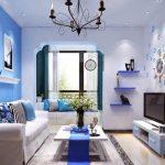 Warna Cat Ruang Tamu Pastel