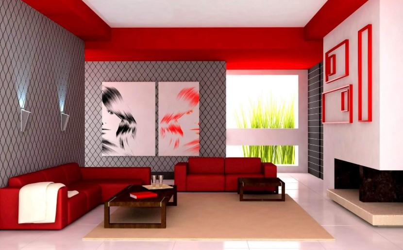 Warna Cat Ruang Tamu Unik Minimalis