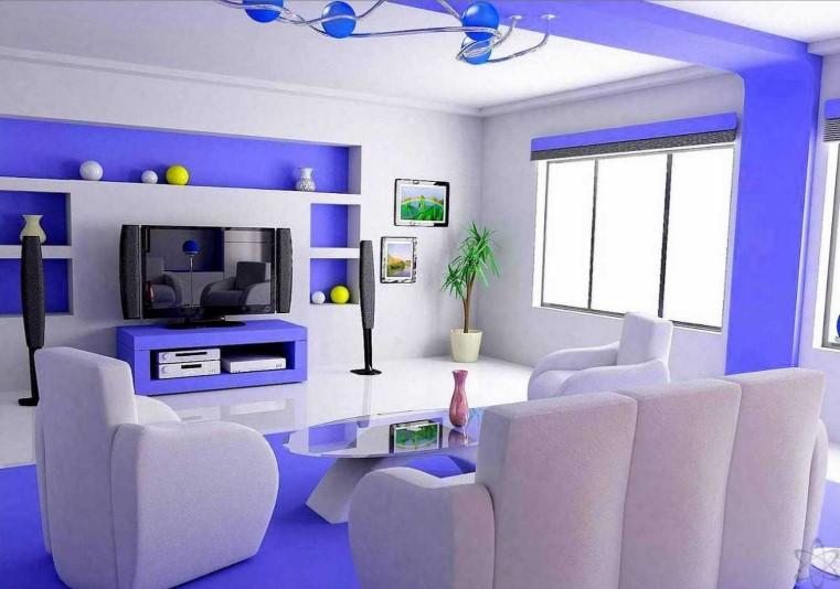 Warna Cat Ruang Tamu Yang Indah