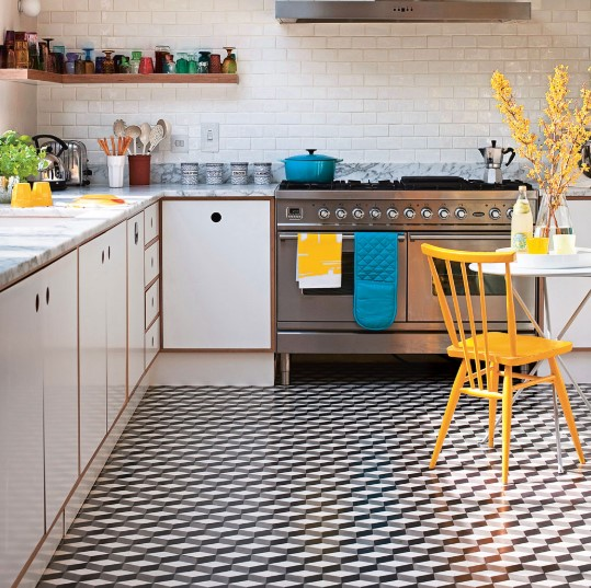 Warna Keramik Lantai Dapur Sederhana