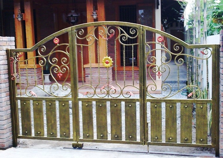 Warna Pagar Besi Rumah Minimalis