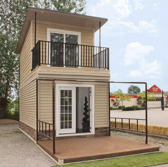 Bentuk Rumah Minimalis 2 Lantai Sederhana