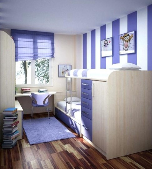 Contoh Desain Kamar Tidur Anak Minimalis