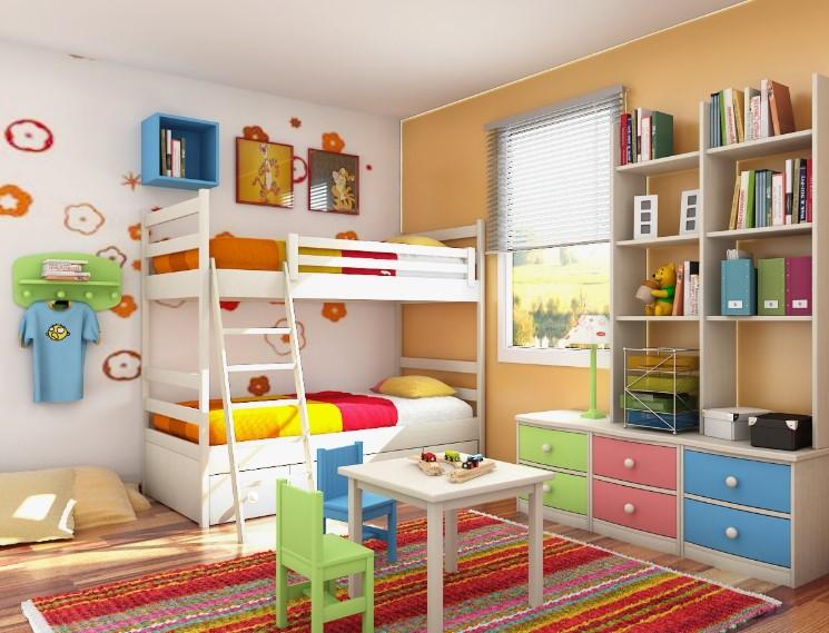 45 Ide Desain Kamar Tidur Anak Minimalis Terbaru 2020