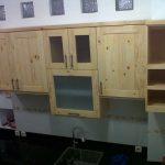 Contoh Desain Kitchen Set Dapur Kayu
