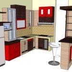 Contoh Desain Kitchen Set Mini Bar
