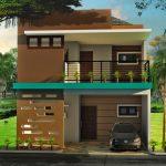 Contoh Desain Rumah Minimalis 2 Lantai 6x12