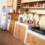 Contoh Kitchen Set Dari Kayu