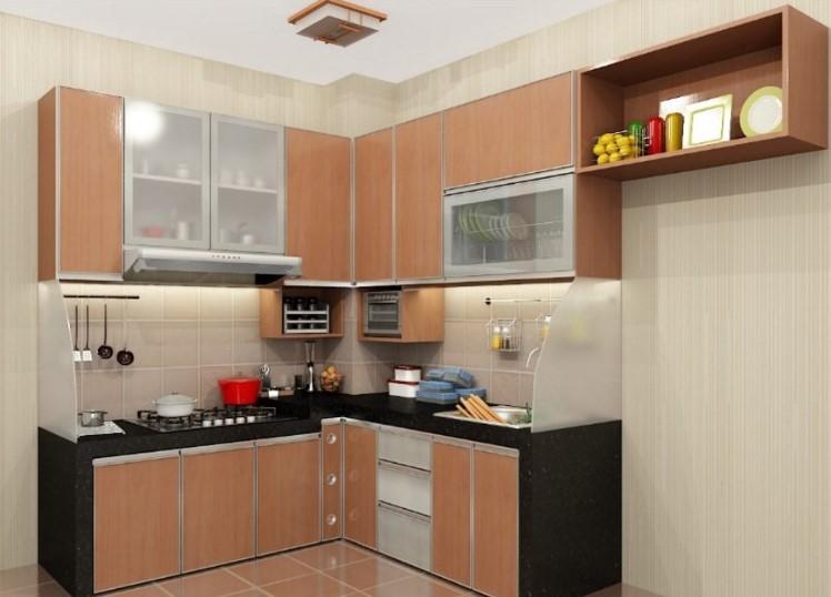 Contoh Kitchen Set Minimalis Untuk Dapur Kecil