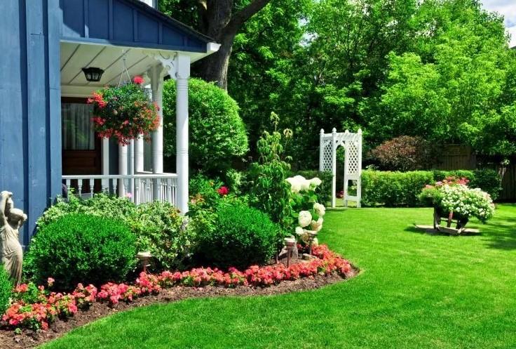 Contoh Taman Halaman Rumah Sederhana