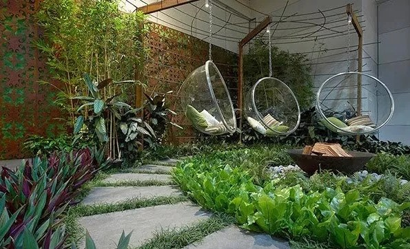 Contoh Taman Rumah Sederhana