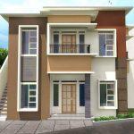 Denah Rumah Minimalis Sederhana Type 45 2 Lantai